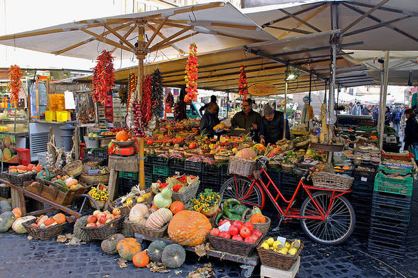 Photograph - Fruit And Vegetable Market by Tony Murtagh