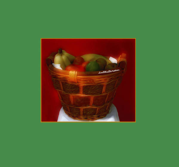 Digital Art - Fruit  Art 4 by Miss Pet Sitter