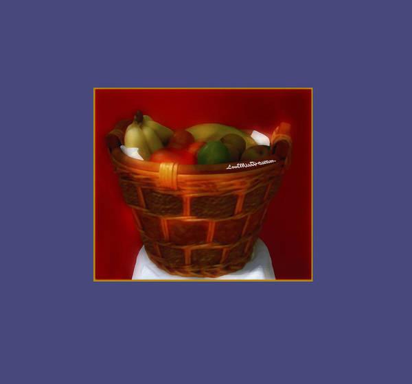 Digital Art - Fruit  Art 3 by Miss Pet Sitter