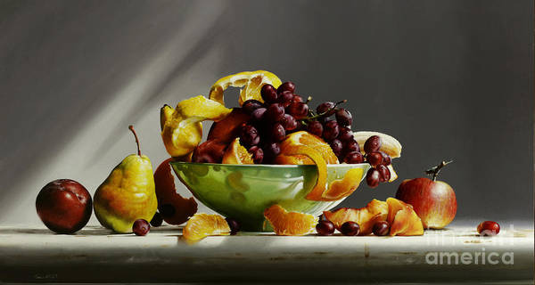 Wall Art - Painting - Fruit Bowl #5 by Lawrence Preston