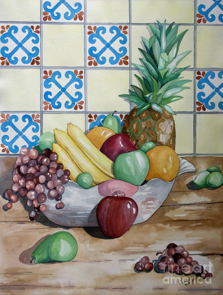 Painting - Fruit Bowl by Kandyce Waltensperger