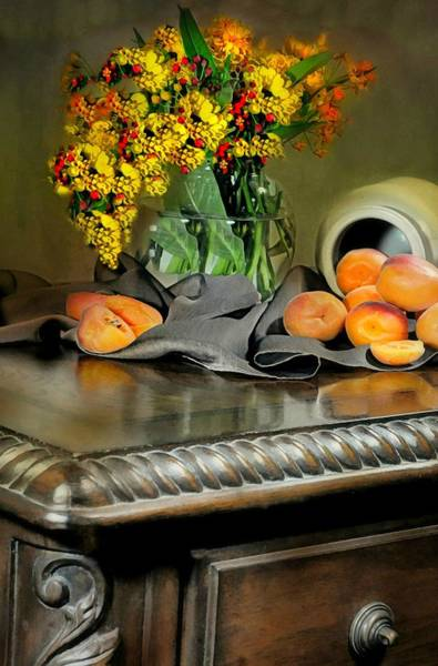 Wall Art - Photograph - The Antique Desk by Diana Angstadt