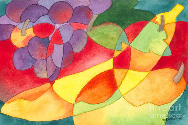Painting - Fruit Montage by Kristen Fox