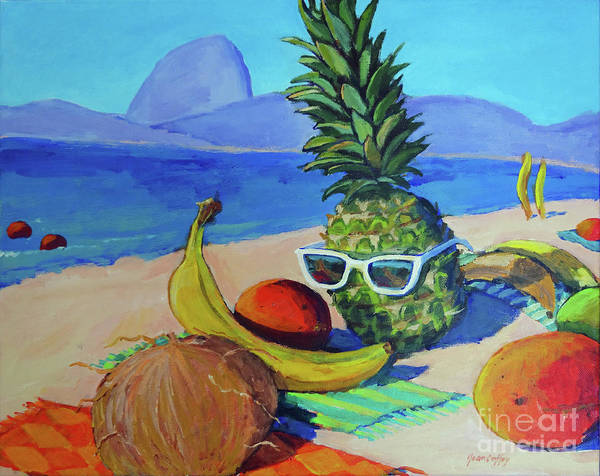 Painting - Fruit Of The Carioca Sol by Joan Coffey