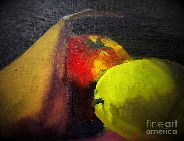 Charisse Painting - Fruit Profile by Charisse Sotto