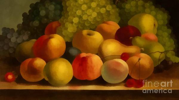 Painting - Fruit Realistic by Catherine Lott