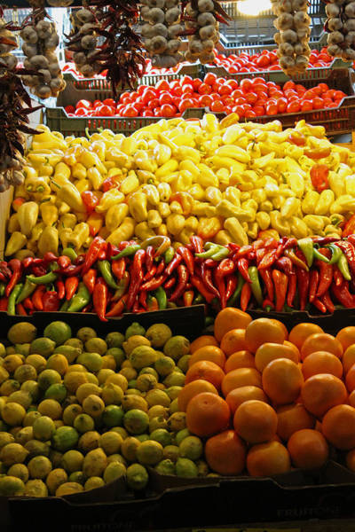 Photograph - Fruit Stall by Tony Murtagh