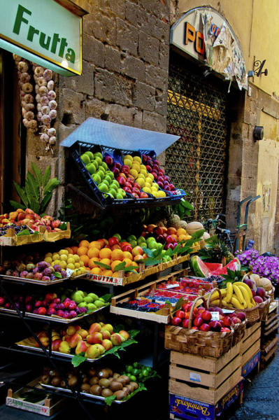 Photograph - Fruit Stand  by Harry Spitz