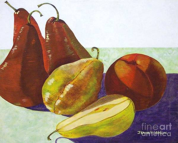 Painting - Fruit Still Life by Jeanie Watson