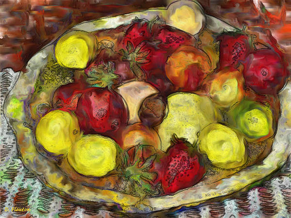 Photograph - Fruitbowl by Dee Flouton