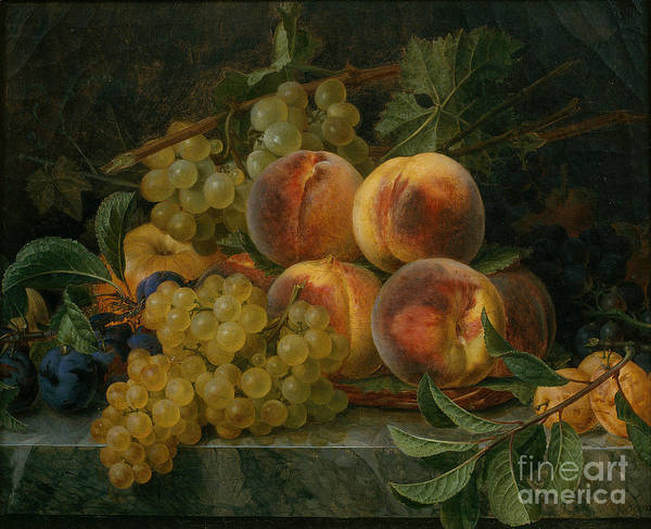 Painting - Fruits Still Life by Celestial Images