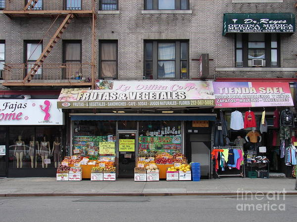 Photograph - Frutas And Vegetales by Cole Thompson