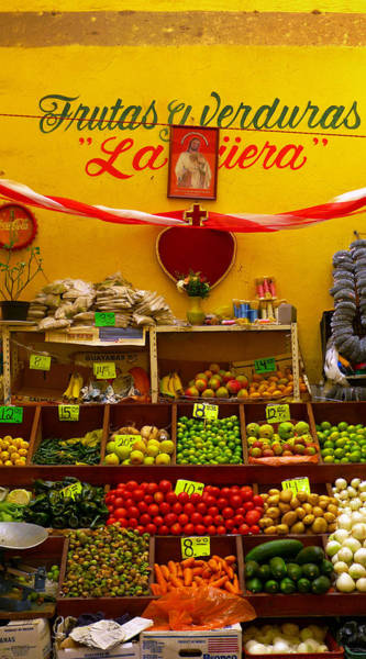 Zacatecas Photograph - Frutas Y Verduras by Skip Hunt