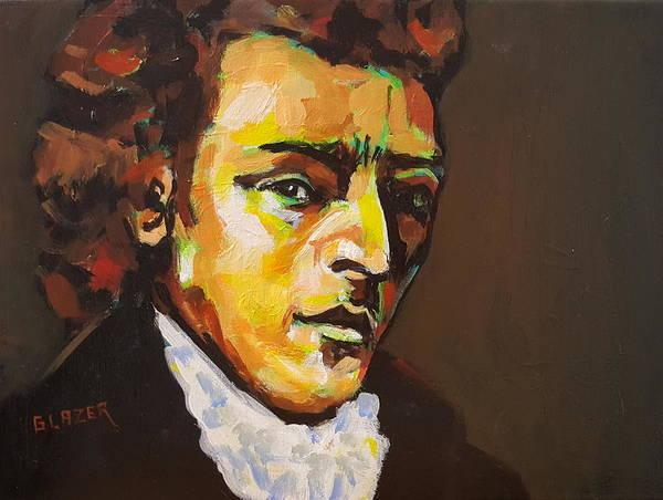 Wall Art - Painting - Fryderyk Chopin by Stuart Glazer