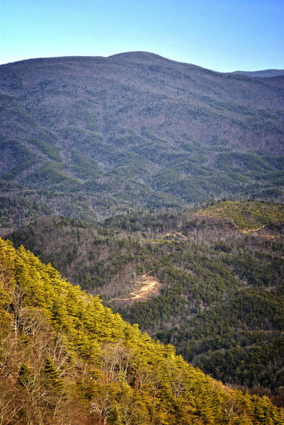 Photograph - Ft. Mountain Overlook 2 by George Taylor