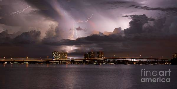 Bolts Photograph - Ft Myers Nights by Quinn Sedam