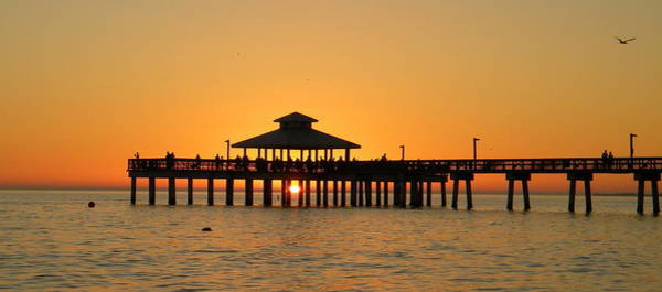 Ft. Myers Pier Art Print