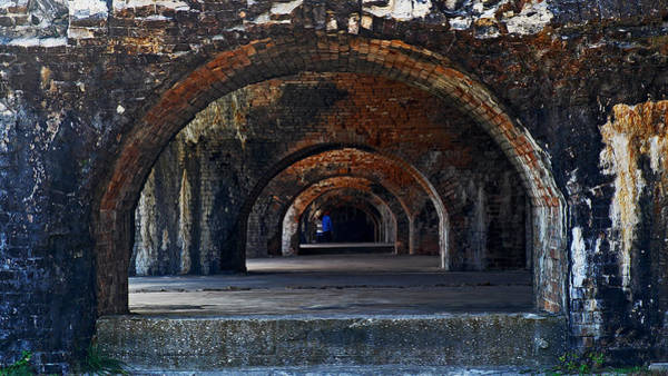 Photograph - Ft. Pickens Arches by George Taylor