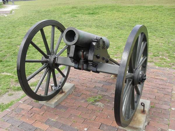 Fort Sumpter Photograph - Ft. Sumpter Cannon by G Johnson