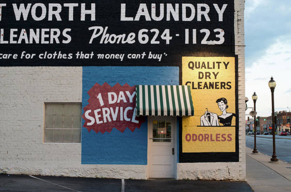 Photograph - Ft Worth Cleaners  1927 81217 by Rospotte Photography