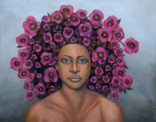 Painting - Fuchsia by Leah Saulnier The Painting Maniac