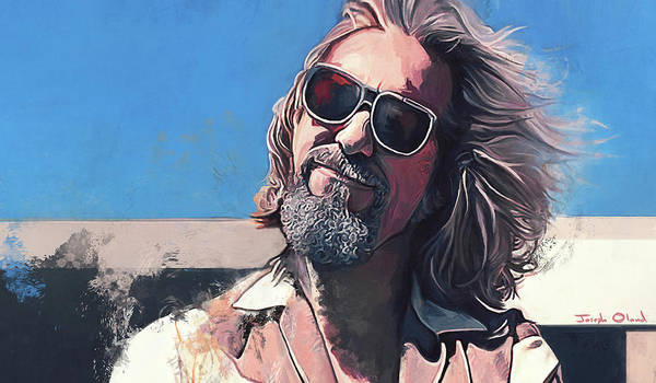 The Big Lebowski Painting - Fuck It Dude - The Big Lebowski by Joseph Oland