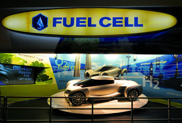 Epcot Center Wall Art - Photograph - Fuel Cell Tech by David Lee Thompson
