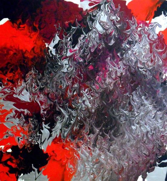 Painting - Fuel by Cyryn Fyrcyd