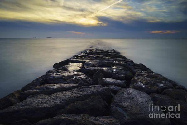 Photograph - Fuentebravia Breakwater El Puerto De Santa Maria Cadiz Spain by Pablo Avanzini