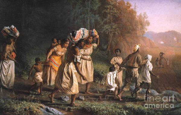 Dixon Photograph - Fugitive Slaves, 1867 by Granger