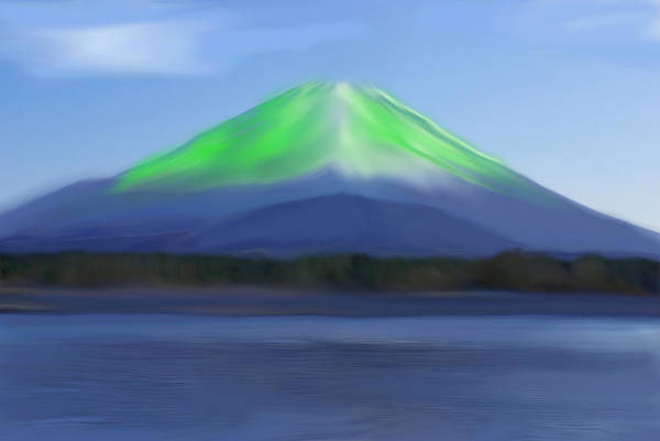 Painting - Fuji by Thomas M Pikolin
