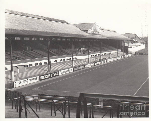 George Best Wall Art - Photograph - Fulham - Craven Cottage - East Stand Stevenage Road 1 - Leitch - September 1969 by Legendary Football Grounds