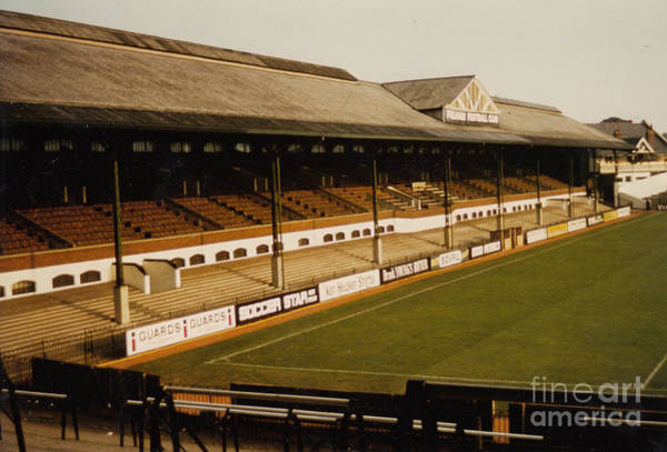 Wall Art - Photograph - Fulham - Craven Cottage - East Stand Stevenage Road 2 - Leitch - August 1986 by Legendary Football Grounds