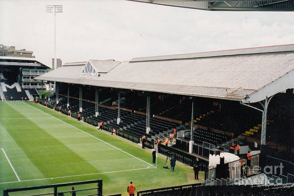George Best Wall Art - Photograph - Fulham - Craven Cottage - East Stand Stevenage Road 4 - Leitch - July 2004 by Legendary Football Grounds