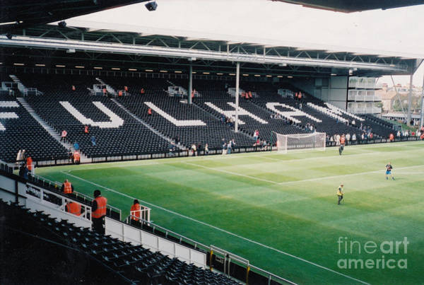 George Best Wall Art - Photograph - Fulham - Craven Cottage - North Stand Hammersmith End 3 - July 2004 by Legendary Football Grounds