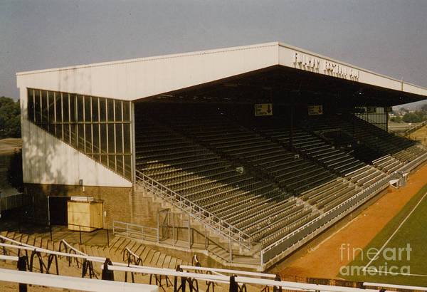 Wall Art - Photograph - Fulham - Craven Cottage - Riverside Stand 2 - August 1986 by Legendary Football Grounds