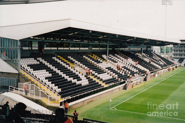 George Best Wall Art - Photograph - Fulham - Craven Cottage - Riverside Stand 5 - July 2004 by Legendary Football Grounds