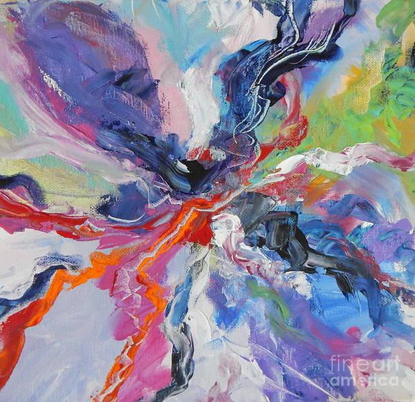 Dominate Painting -  Bloom by Expressionistart studio Priscilla Batzell