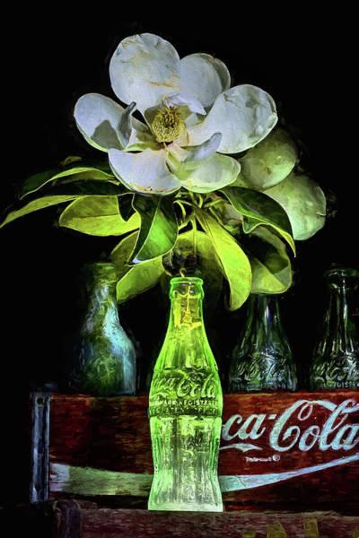 Digital Art - Full Bloom Still Life by JC Findley