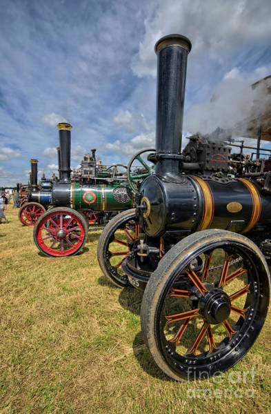 Steam Engine Photograph - Full Head Of Steam by Smart Aviation