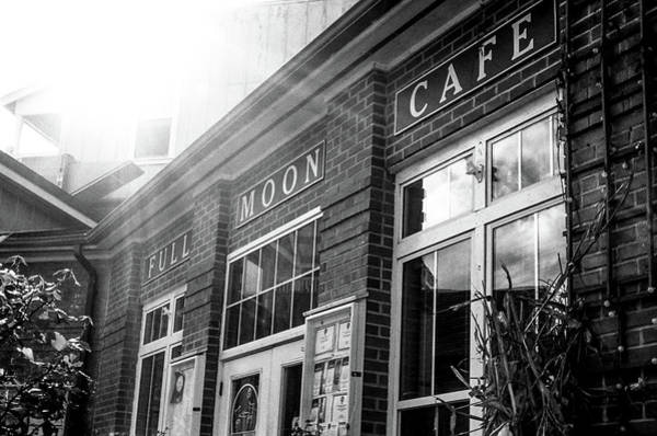 Full Moon Cafe Art Print