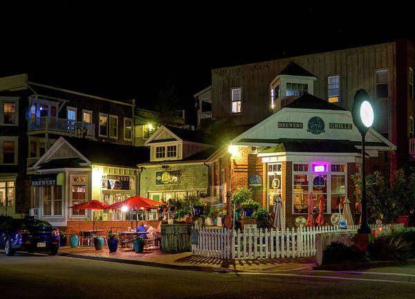Photograph - Full Moon Cafe Hdr by Greg Reed