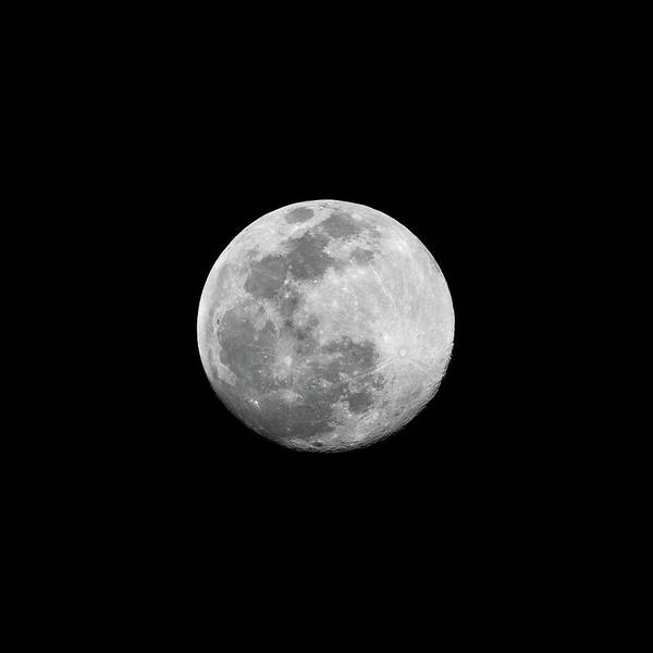 Exploration Photograph - Full Moon by CP Cheah