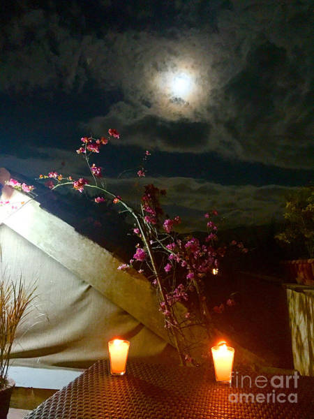 Wall Art - Photograph - Full Moon Guatemala by Carey Chen