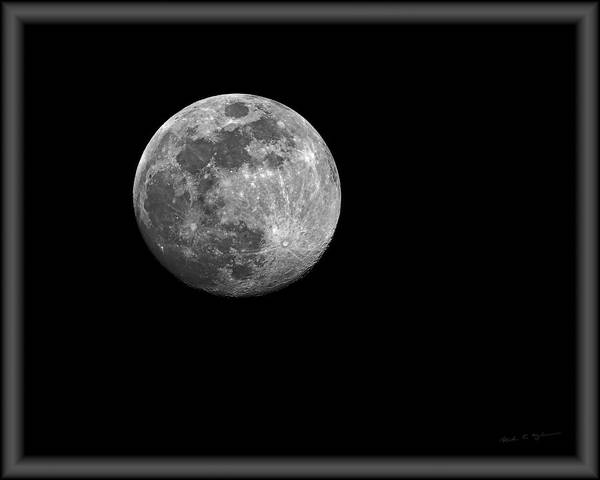 Photograph - Full Moon H1809 by Mark Myhaver