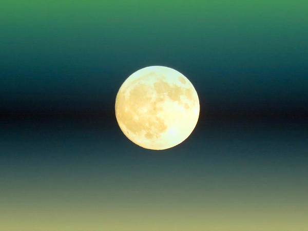 Photograph - Full Moon In Aries by Judy Kennedy
