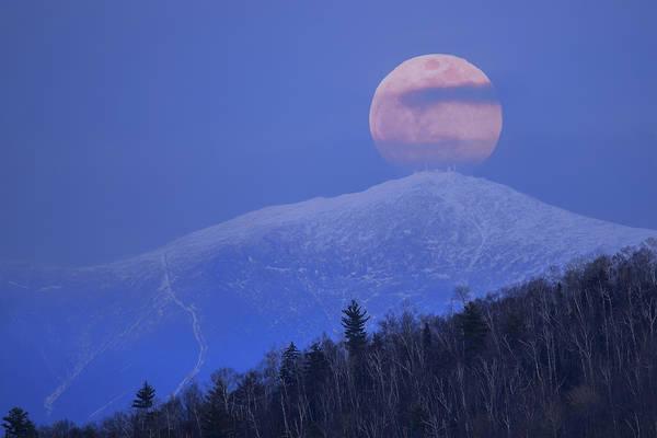 Wall Art - Photograph - Full Moon Over Washington by Chris Whiton