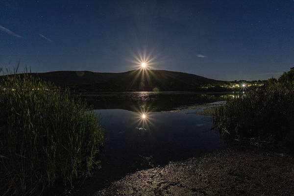 Photograph - Full Moon Retreat Meadows by Tom Singleton