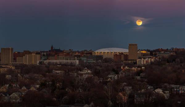 Wall Art - Photograph - Full Moon Rising by Everet Regal