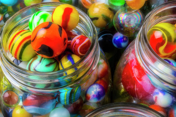 Wall Art - Photograph - Full Of Marbles by Garry Gay